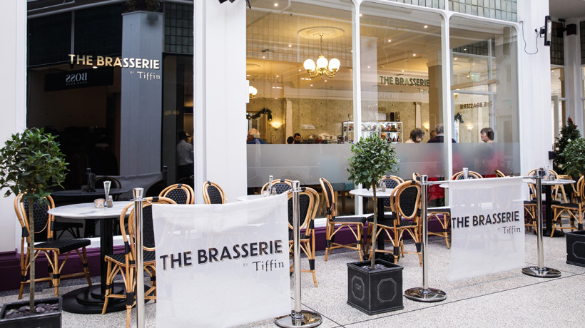 The Brasserie, Tiffin Jersey