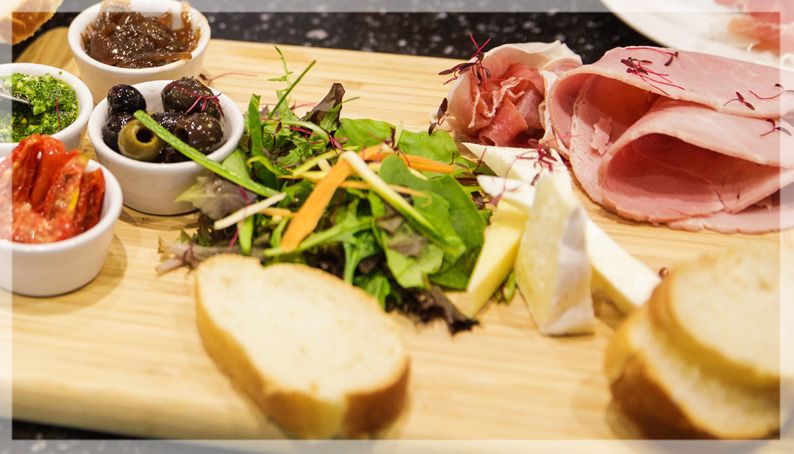 Fresh Food at The Brasserie, Tiffin, Jersey