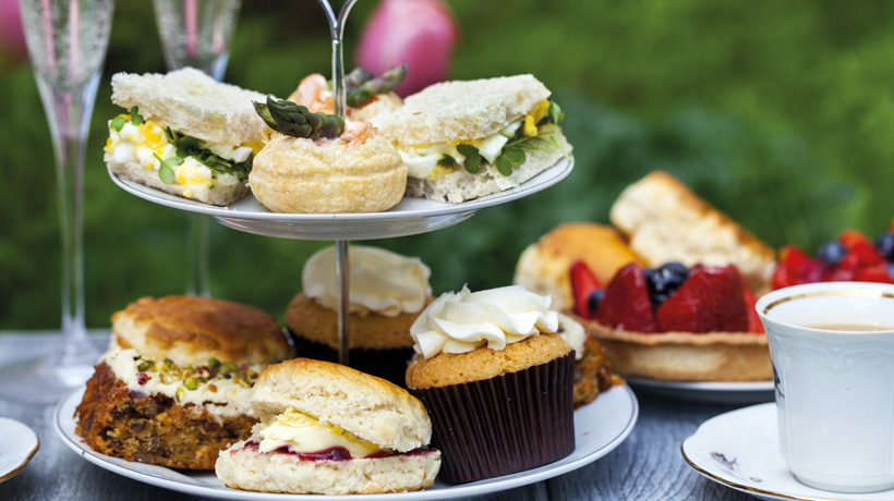 Enjoy a free glass of bubbles with your Afternoon Tea